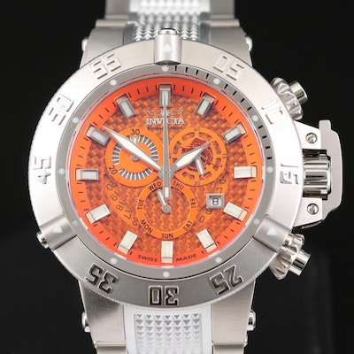 Invicta Subaqua Noma III Stainless Steel Quartz Chronograph Wristwatch