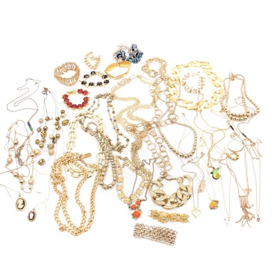 Jewelry Collection Featuring Ralph Lauren, Trifari and Sperry