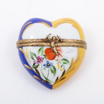 La Gloriette Hand-Painted Porcelain Limoges Box