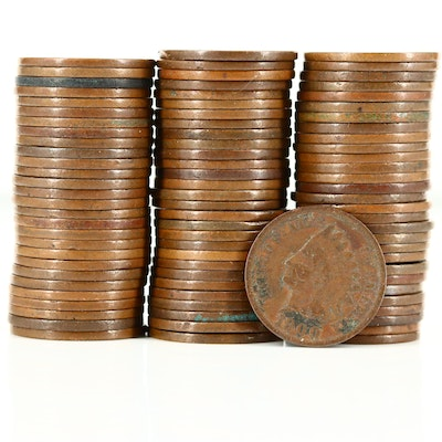 Eighty-Seven Indian Head Cents