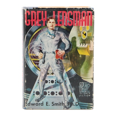 "Signed First Edition ""Gray Lensman"" by Edward E. Smith, 1951"