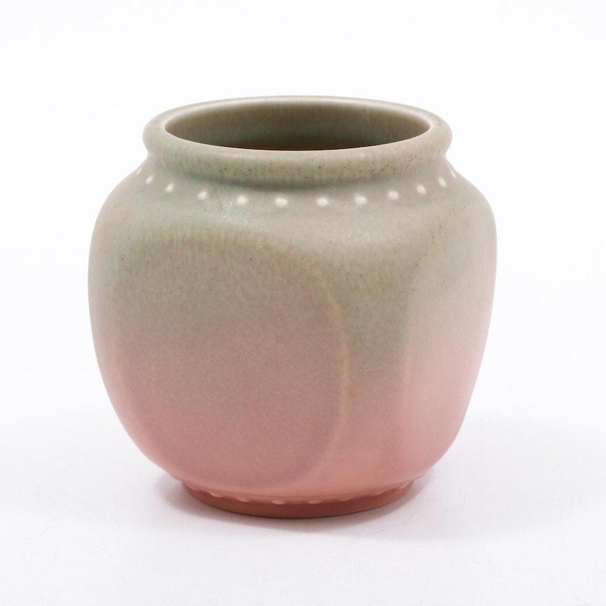 Rookwood Pottery Matte Glaze Vase, 1926
