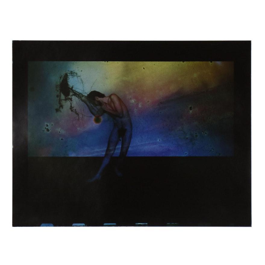 Barbara Hershey Surrealist Figural Cliché Verre Photograph, 1983
