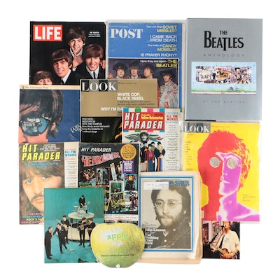 """""""The Beatles Anthology"""" with Lennon, Harrison, Starr Publications"""