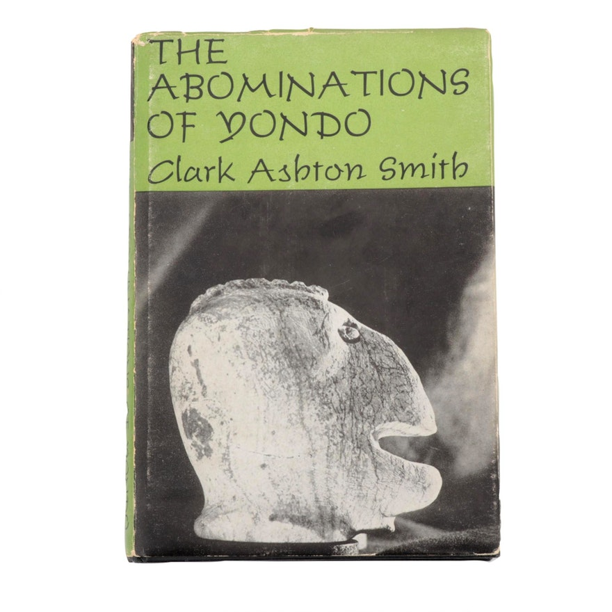"""1960 First Edition """"The Abominations of Yondo"""" by Clark Ashton Smith"""