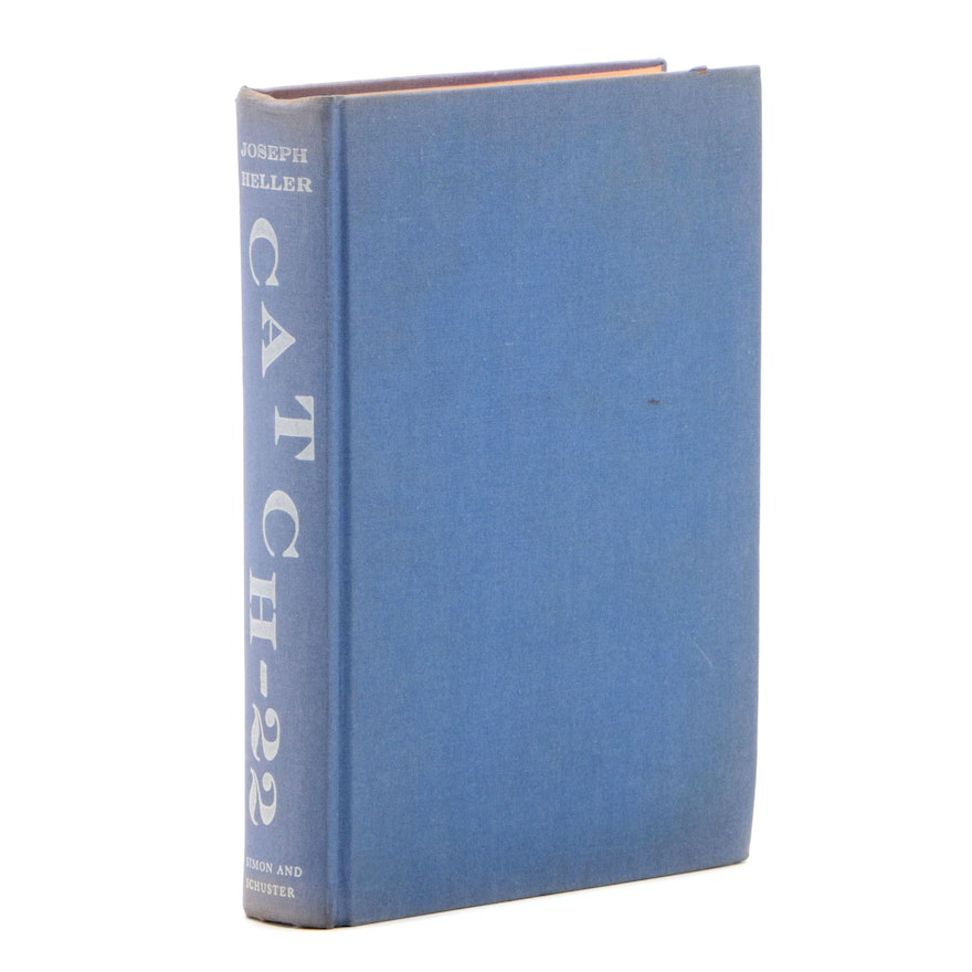 """First Edition, First Printing """"Catch-22"""" by Joseph Heller, 1961"""