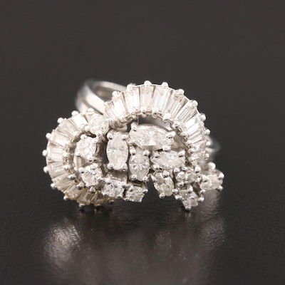 Platinum 2.00 CTW Diamond Ring