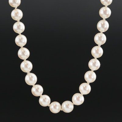 Mikimoto Cultured Pearl Strand Necklace