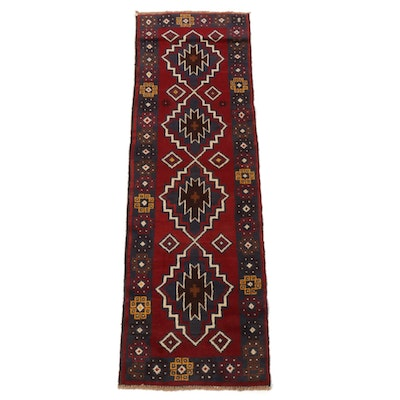 2'0 x 6'5 Hand-Knotted Afghani Baluch Runner