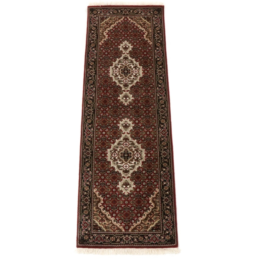 2'0 x 6'4 Hand-Knotted Indo-Persian Bijar Runner
