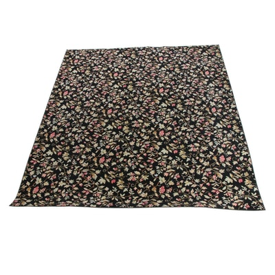 10'0 x 12'5 Machine Made Floral Wool Room Sized Rug