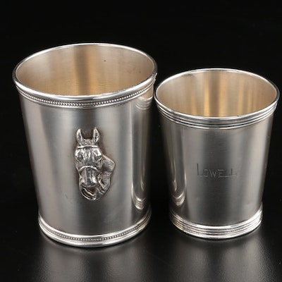 Benjamin Trees Sterling Silver Mint Julep Cups, Mid-Century