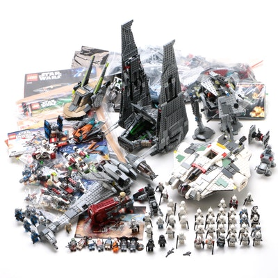 "LEGO ""Star Wars"" New Trilogy Rebels Figures, Space Vehicles, Weapons, & Manuals"