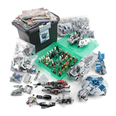 "LEGO ""Star Wars"" Action Figures, Space Vehicles, Weapons, with Booklets, 2014"