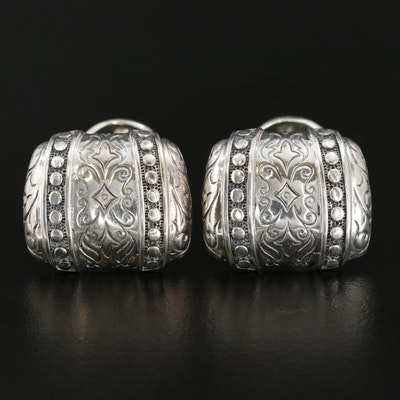 Scott Kay Sterling Silver Textured Cufflinks