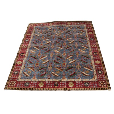 7'9 x 9'8 Machine Made Persian Mahal Room Sized Rug
