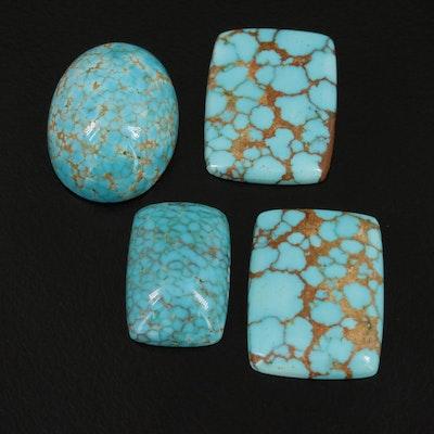 Loose 29.86 CTW Turquoise Gemstones
