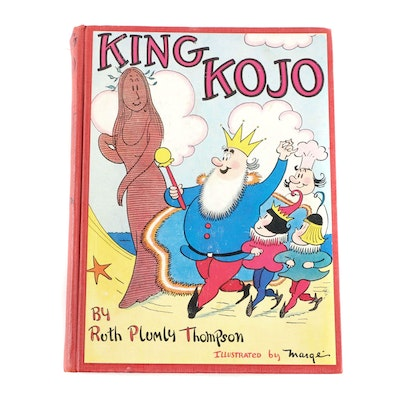 "Scarce First Edition ""King Kojo"" by Ruth Plumly Thompson, 1938"