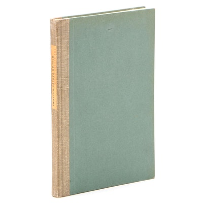 """Signed Limited Edition """"The Desert Music"""" by William Carlos Williams, 1954"""