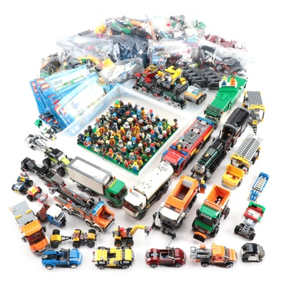 "LEGO ""City Series"" Building Toys Including Figures, Vehicles, Booklets, 2010s"