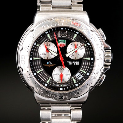 TAG Heuer Formula 1 Chronograph Indy 500 Edition Stainless Steel Wristwatch