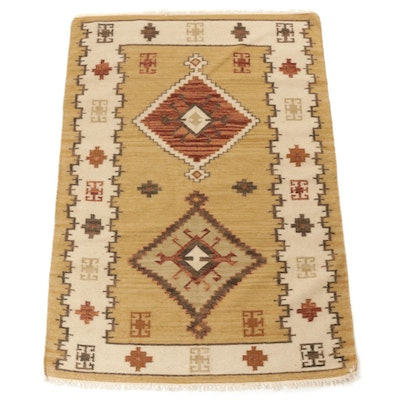 4'6 x 6'8 Handwoven Turkish Kilim Rug