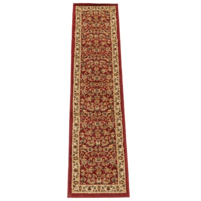 1'10 x 7'3 Power-Loomed Persian Tabriz Carpet Runner, 2000s
