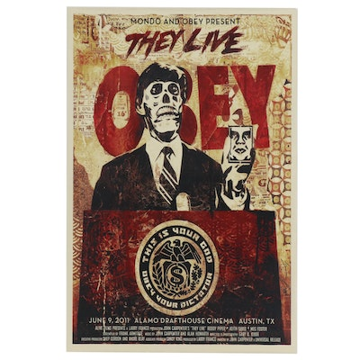 """Giclee Print after Shepard Fairey """"They Live"""""""