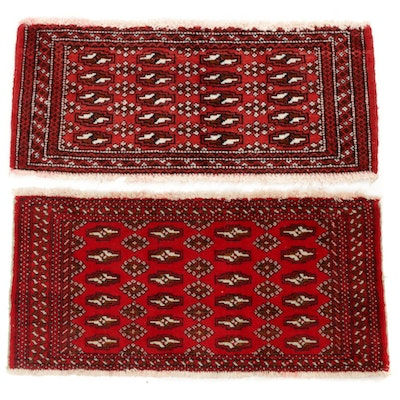 Hand-Knotted Persian Turkoman Rugs, 2000s