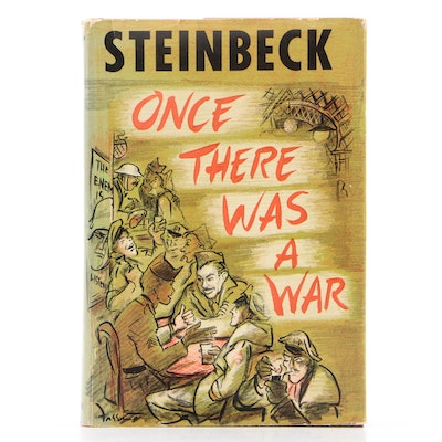 "First Edition ""Once There Was a War"" by John Steinbeck, 1958"