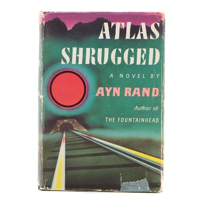 "First Edition, First Printing ""Atlas Shrugged"" by Ayn Rand, 1957"