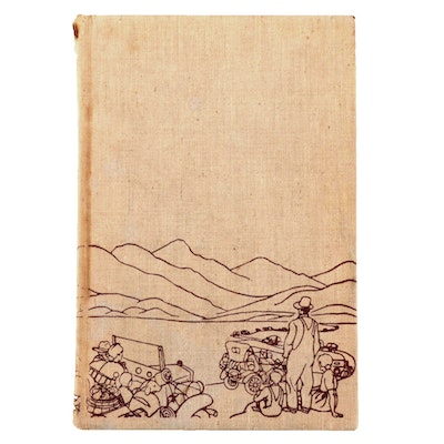 "First Edition ""The Grapes of Wrath"" by John Steinbeck, 1939"