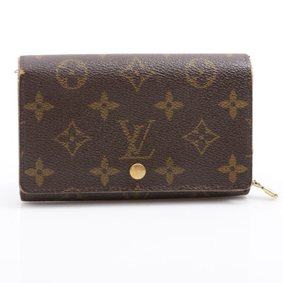 Louis Vuitton Monogram Coated Canvas Bifold Wallet