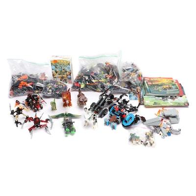 LEGO Dino, Robo Champ, Magikus, Lava Dragon, & Academy Master Builder Handbooks