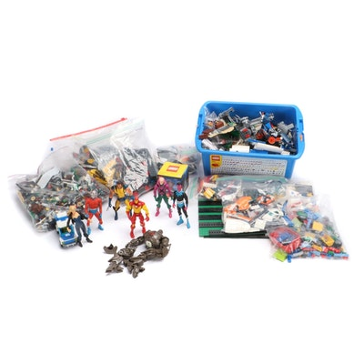 LEGO Transformers Figures, Blocks with Sea Plane, Master Truck, and More