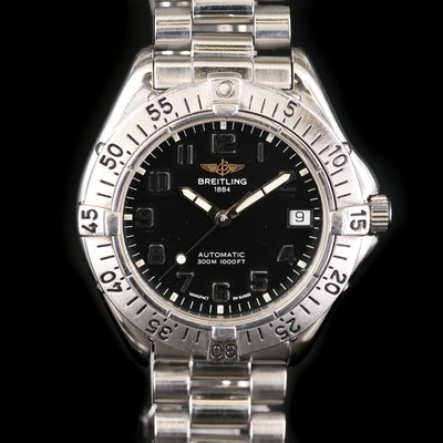 Breitling Colt Stainless Steel Automatic Wristwatch, Circa 1995