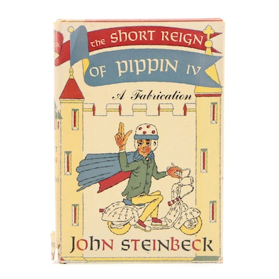 "First Edition ""The Short Reign of Pippin IV"" by John Steinbeck, 1957"