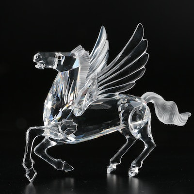 "Swarovski Crystal Fabulous Creatures: ""The Pegasus"" Figurine, 1998"