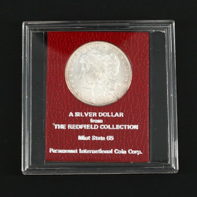 1898-S Redfield Hoard Morgan Silver Dollar