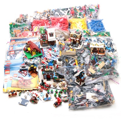 "LEGO ""Creator Series"" Figures, Building, Blocks, Booklets, and More, 2010s"