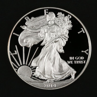 2014-W American Silver Eagle Proof Bullion Coin