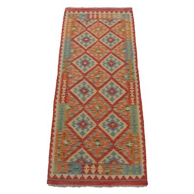2'8 x 6'9 Handwoven Turkish Kilim Rug