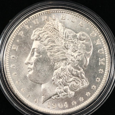 1904-O Silver Morgan Dollar