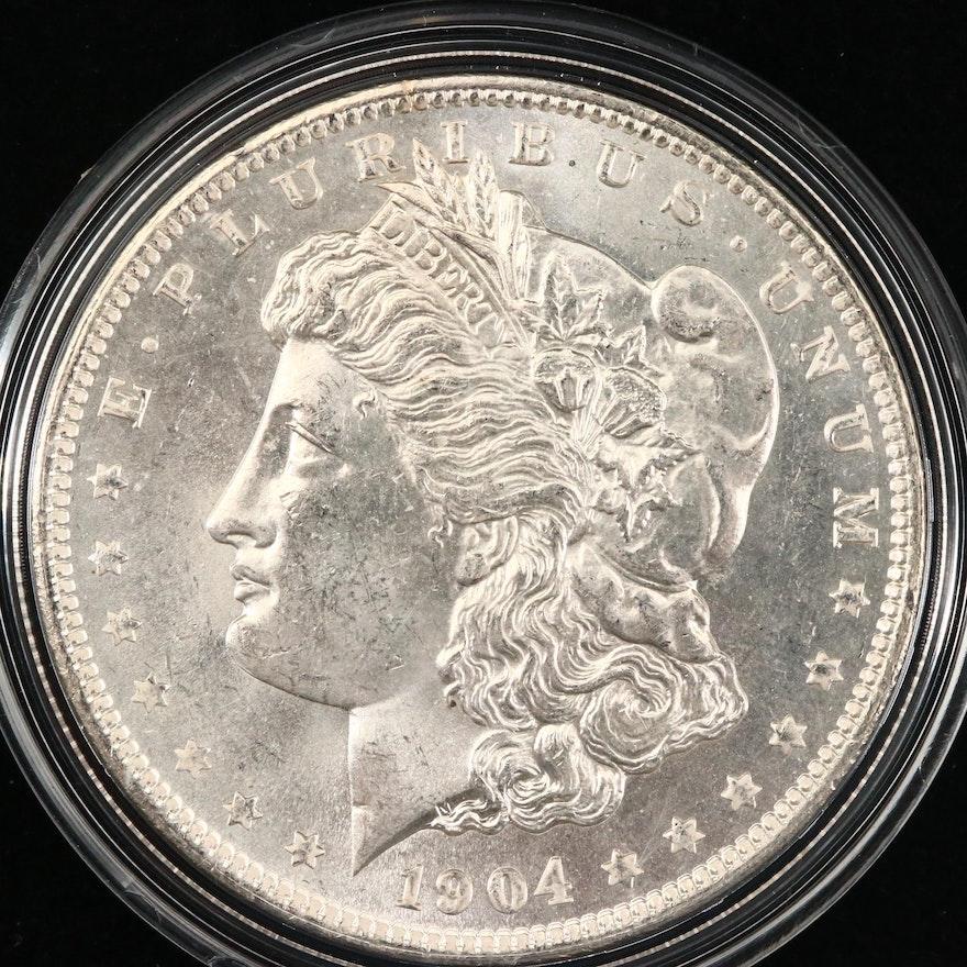 1904-O Silver Morgan Dollar