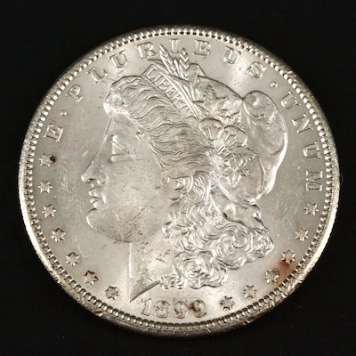 Key Date Low Mintage 1899 Morgan Silver Dollar