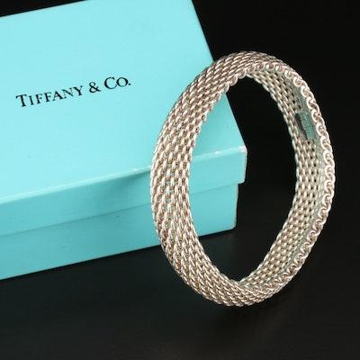 "Tiffany & Co. ""Sommerset"" Sterling Silver Bracelet"