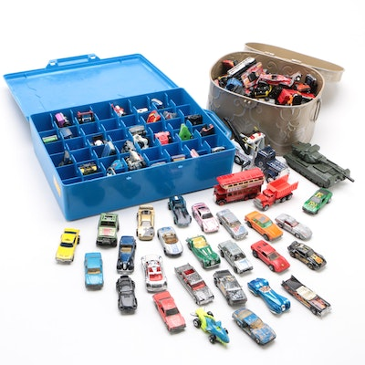 Hot Wheels, Matchbox, and Other Diecast Toy Vehicles