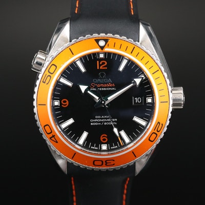 Omega Seamaster Planet Ocean 600M Stainless Steel Automatic Wristwatch