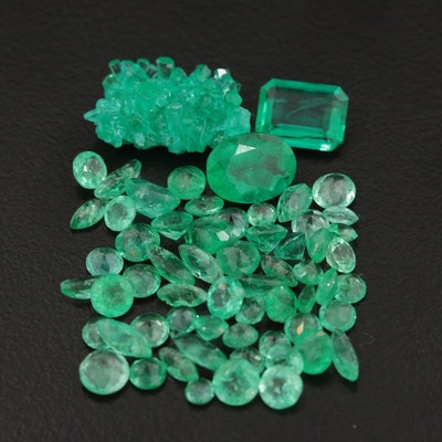 Loose 11.88 CTW Emerald Gemstones