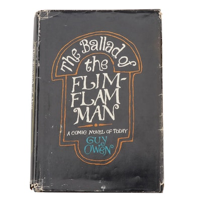 "Signed First Printing ""The Ballad of the Flim-Flam Man"" by Guy Owen, 1965"